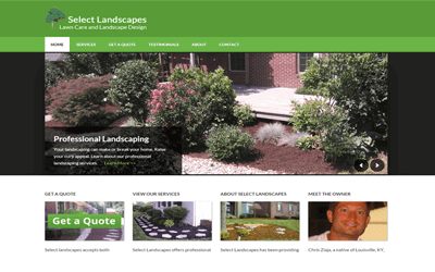 select landscapes kentucky